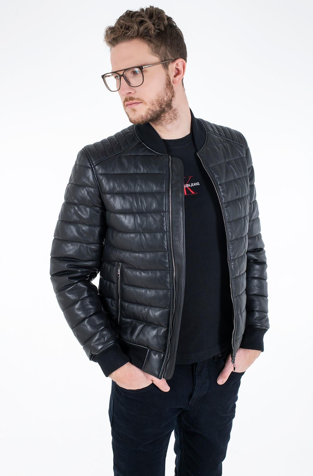 Jope 2 MB QUILTED LEATHER JACKET-full-1