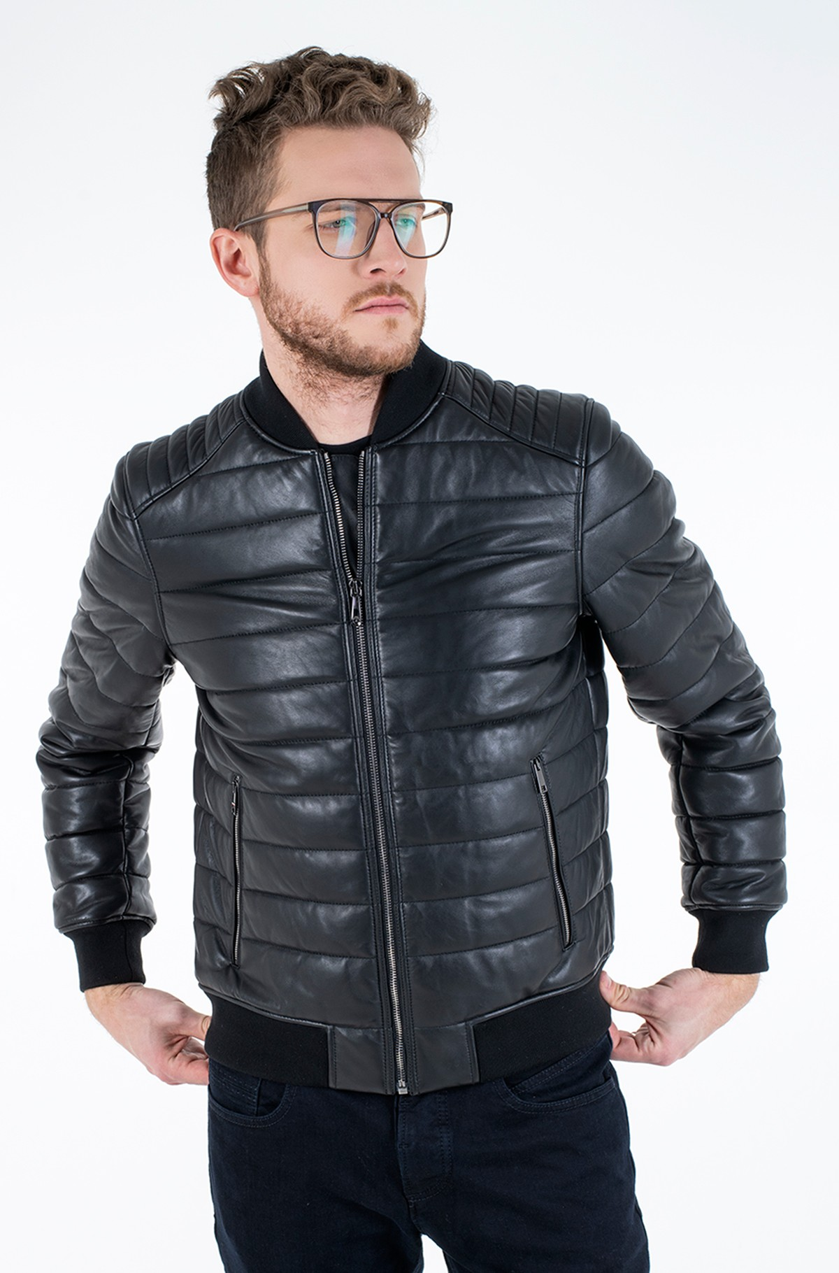 Jope 2 MB QUILTED LEATHER JACKET-full-2