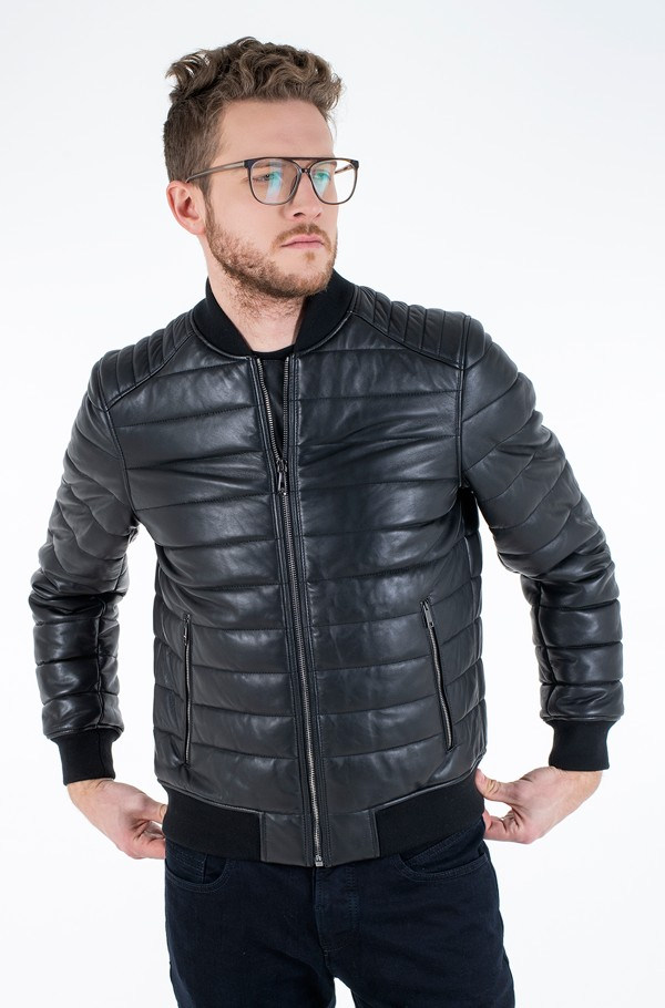 2 MB QUILTED LEATHER JACKET-hover