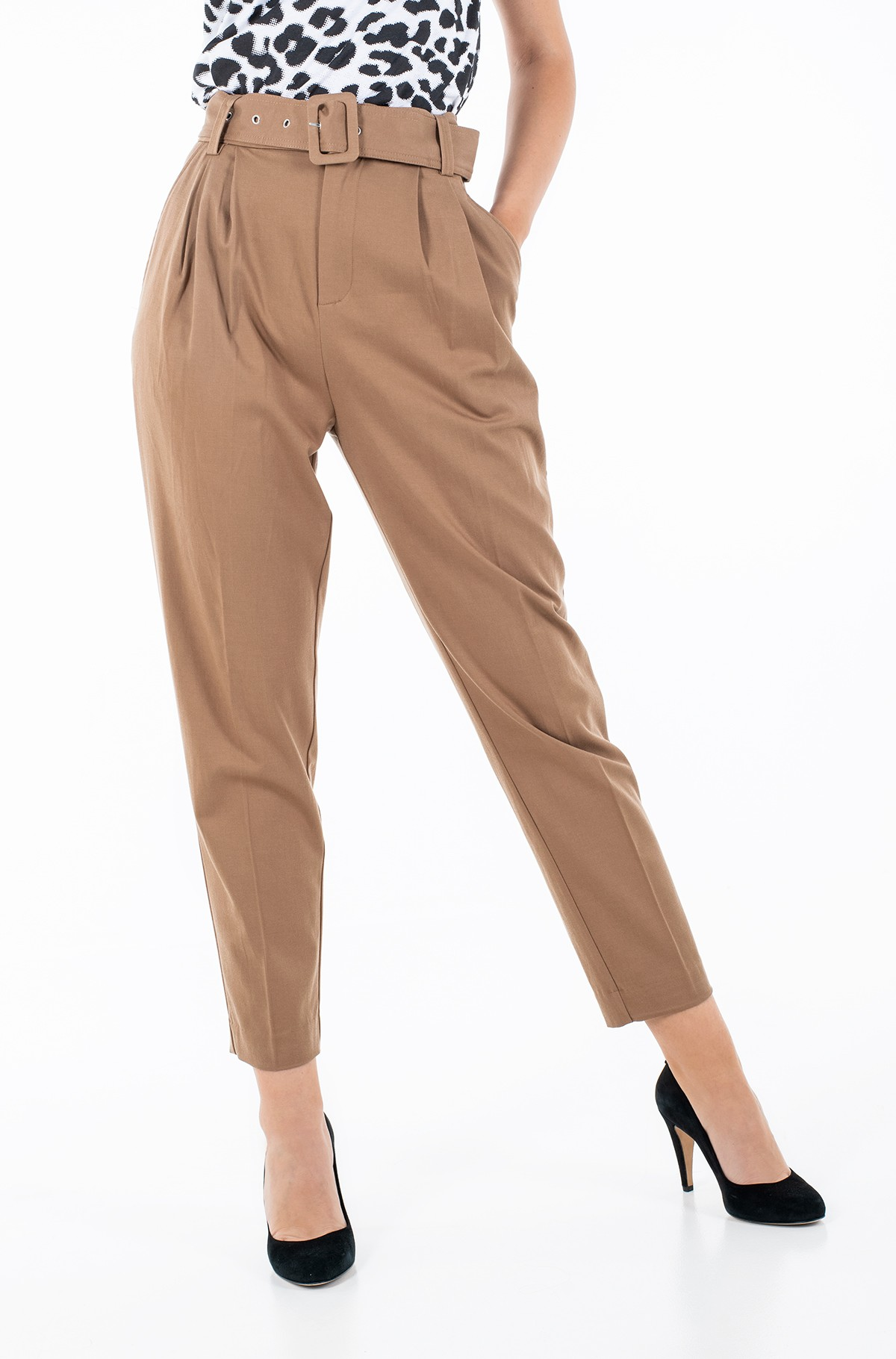 Fabric trousers W1RB68 WDOK0-full-2