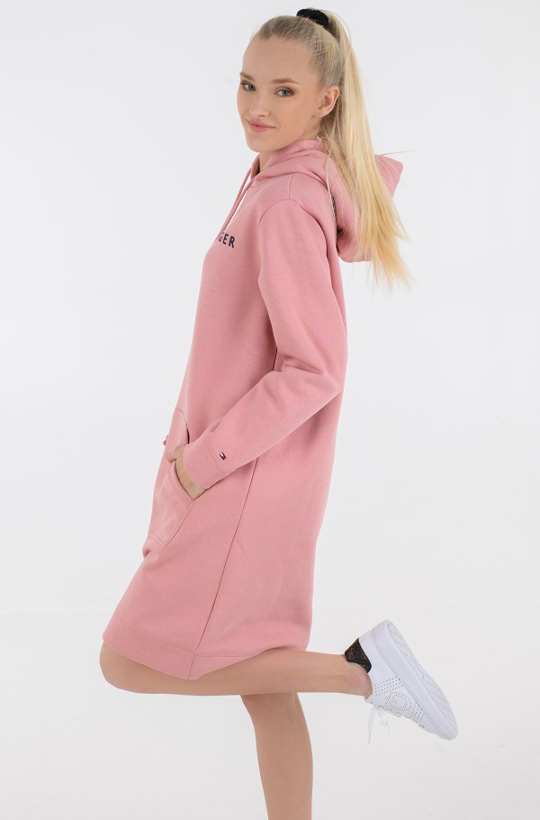 TH ESS HILFIGER HOODIE DRESS LS-hover