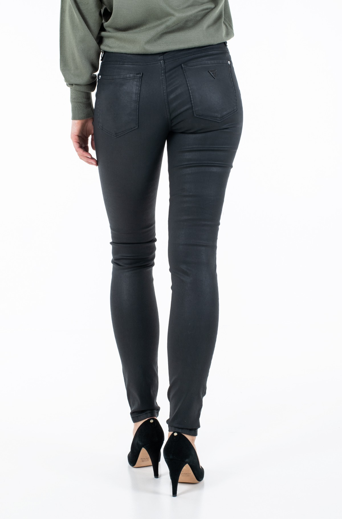 Fabric trousers W1RA99 D3OZ1-full-2