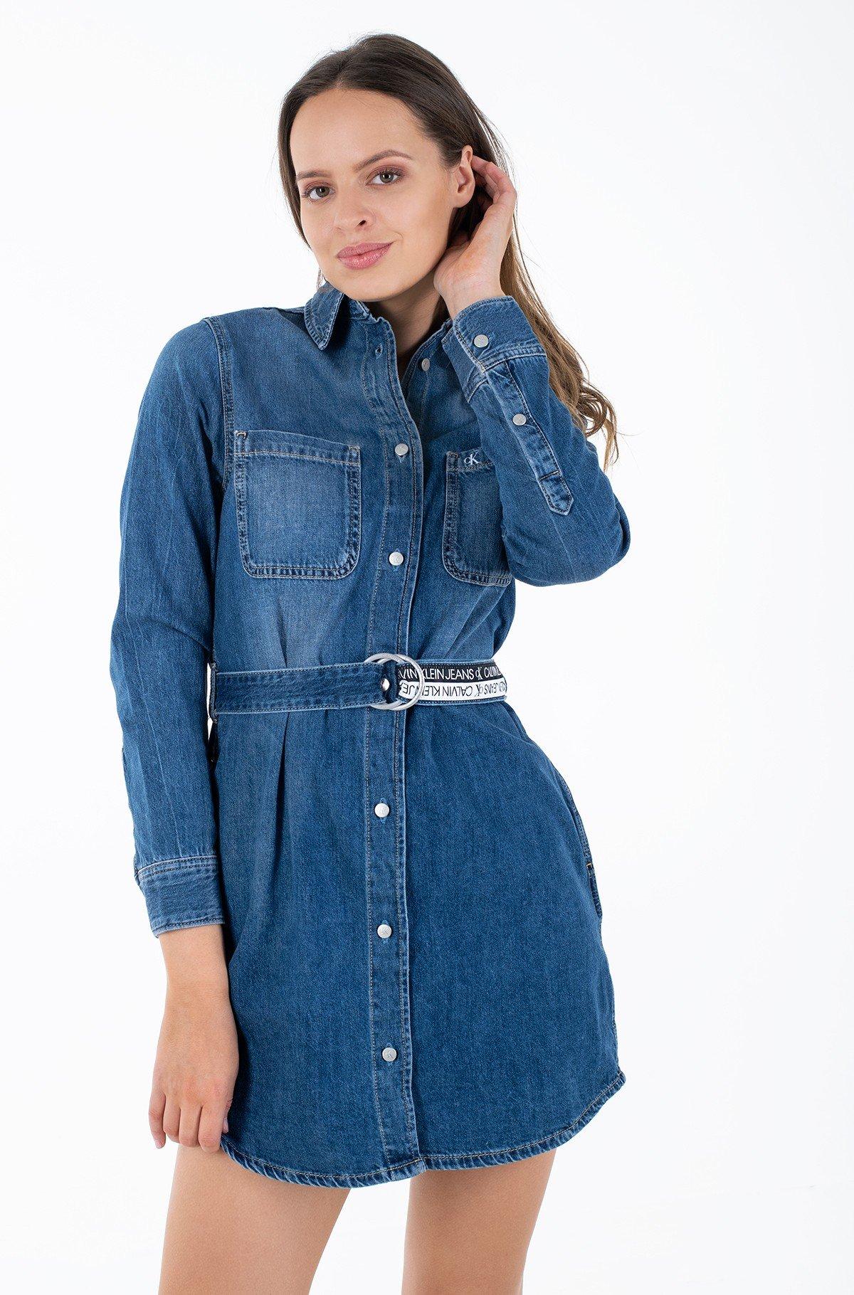 Teksakleit RELAXED SHIRT DRESS-full-1