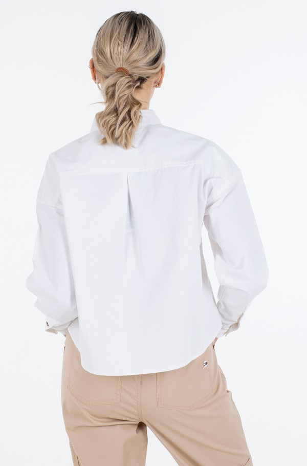 TJW CROPPED UTILITY SHIRT-hover