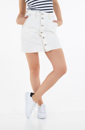 Teksaseelik A-LINE SHORT DENIM SKIRT SSPWR-2