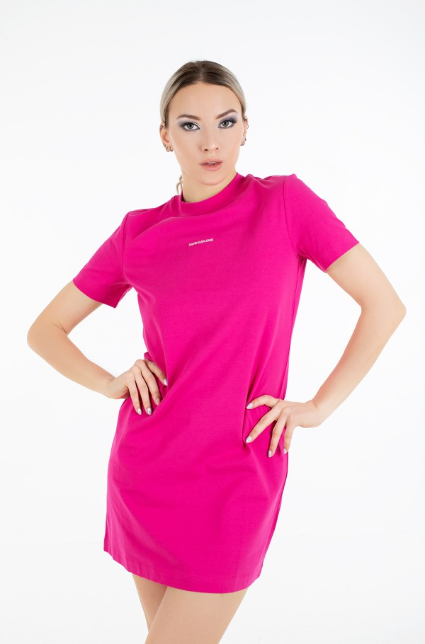 MICRO BRANDING T-SHIRT DRESS