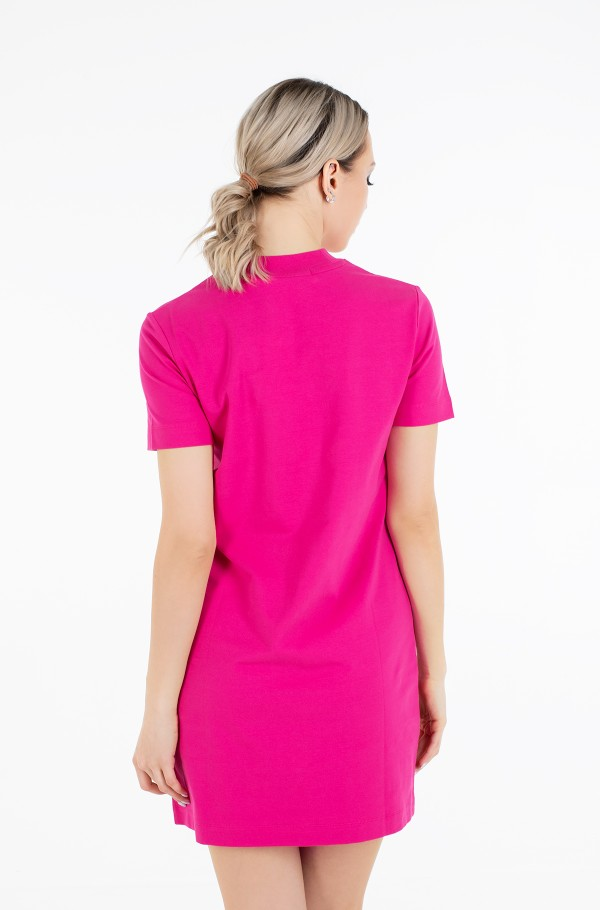 MICRO BRANDING T-SHIRT DRESS-hover
