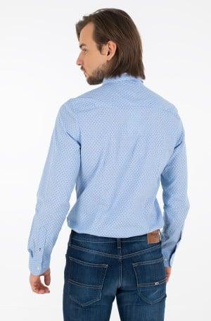 Shirt SLIM DOTTED SQUARE PRINT SHIRT-2