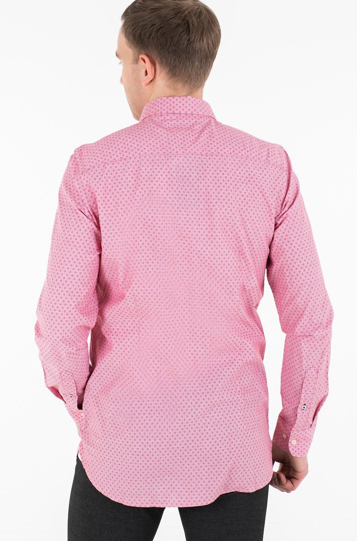 Marškiniai SLIM DOTTED SQUARE PRINT SHIRT-full-2