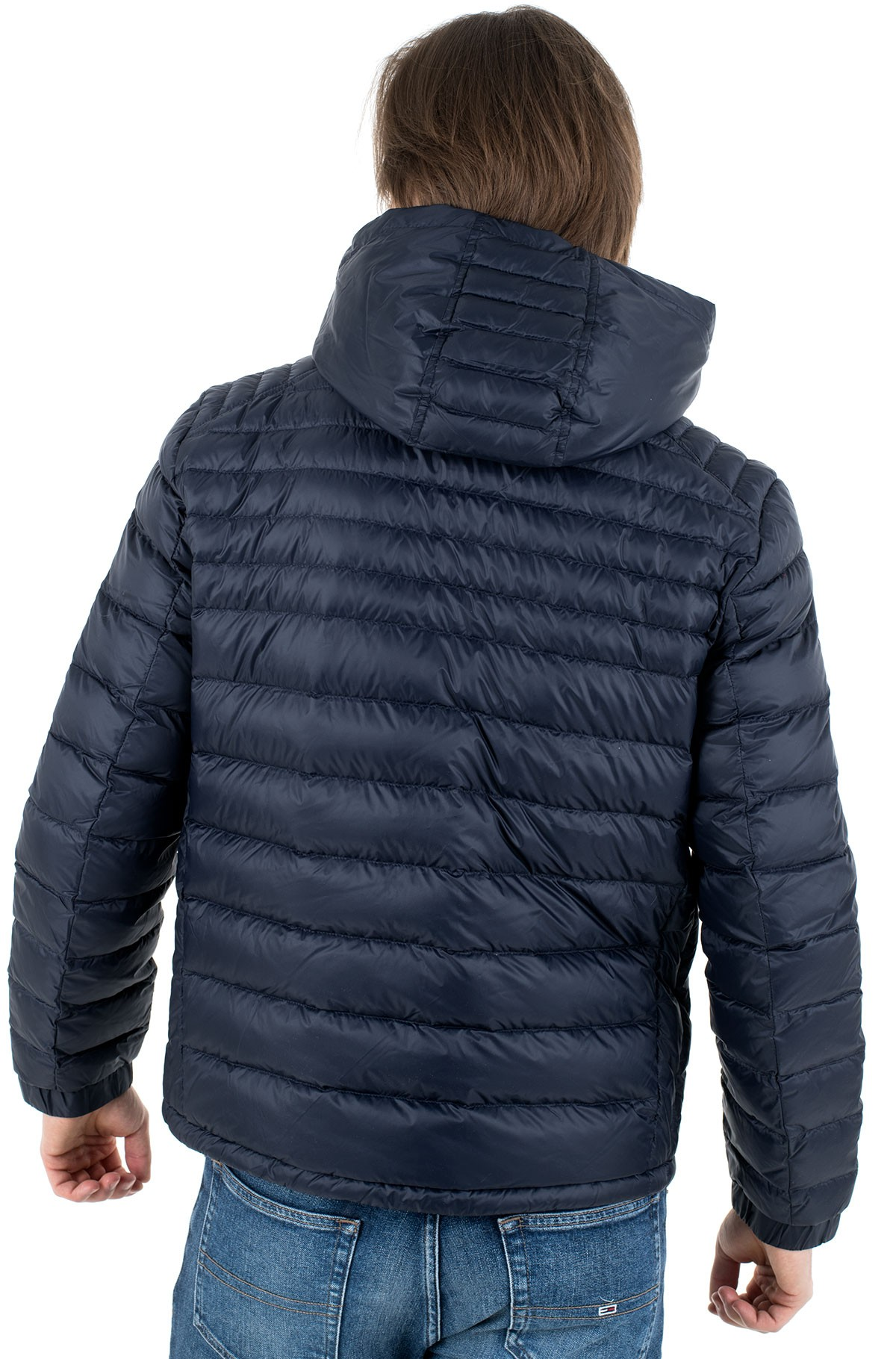 Jacket PACKABLE DOWN HOODED JACKET-full-3