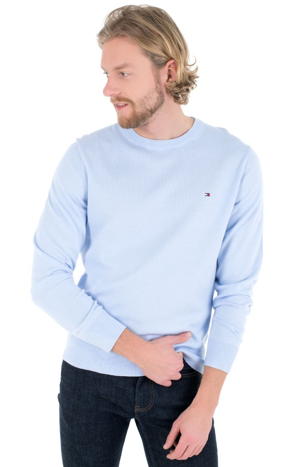ORGANIC COTTON BLEND CREW NECK