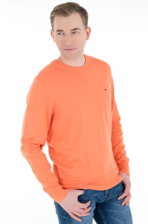 Kampsun ORGANIC COTTON BLEND CREW NECK-1