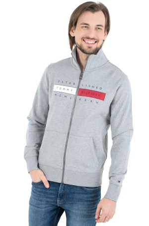 Sporta džemperis GLOBAL HILFIGER ZIP THROUGH-1