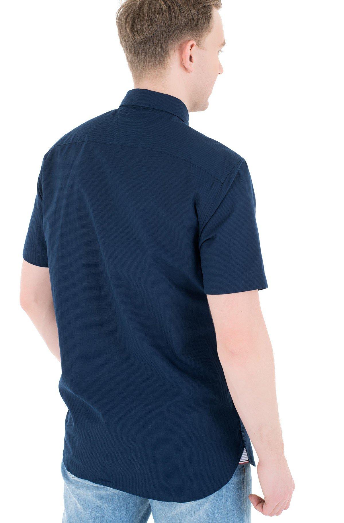 Short sleeve shirt GRID DOBBY SHIRT S/S-full-2