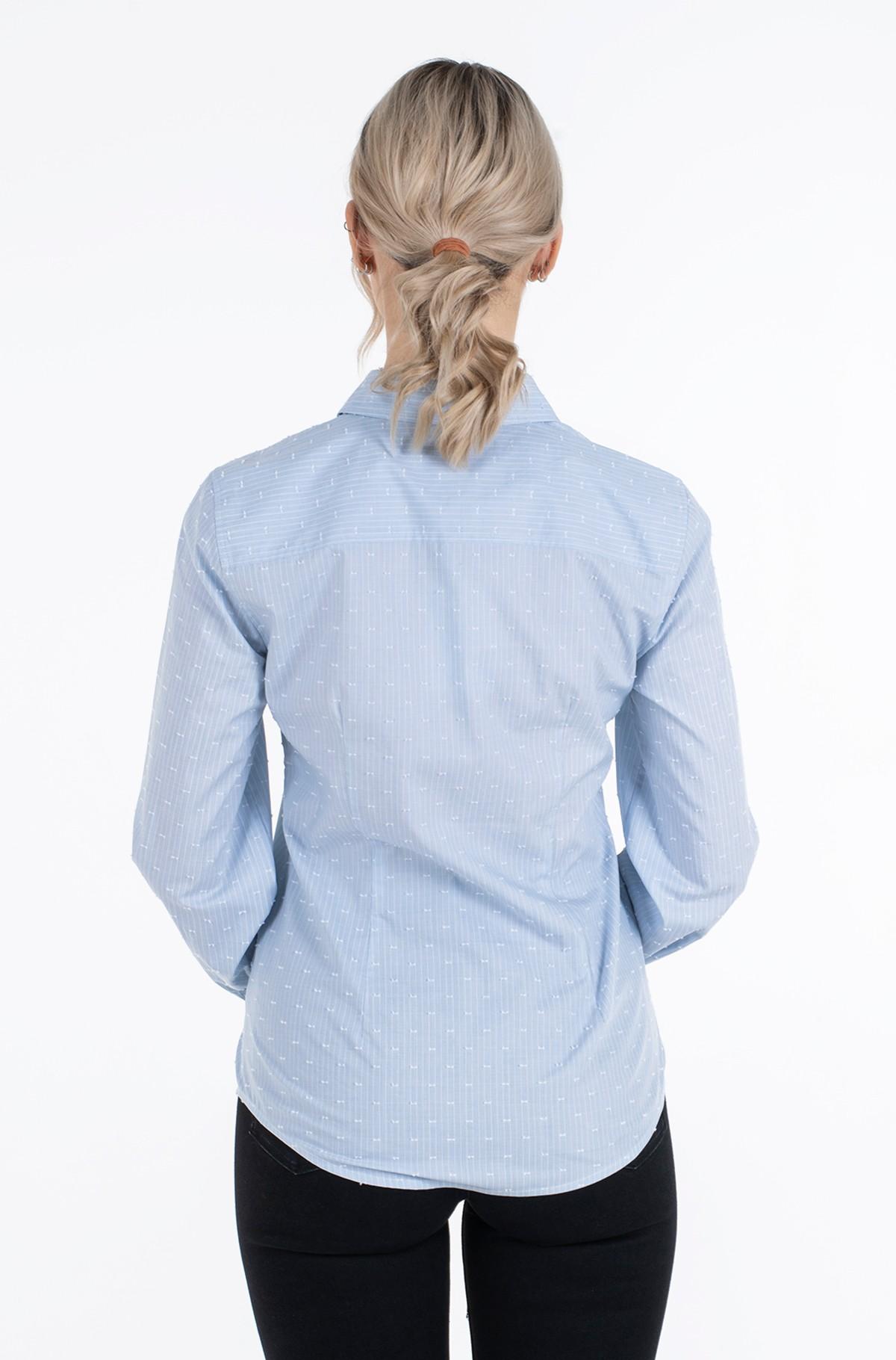 Shirt COTTON CLIP DOT REGULAR SHIRT LS-full-2