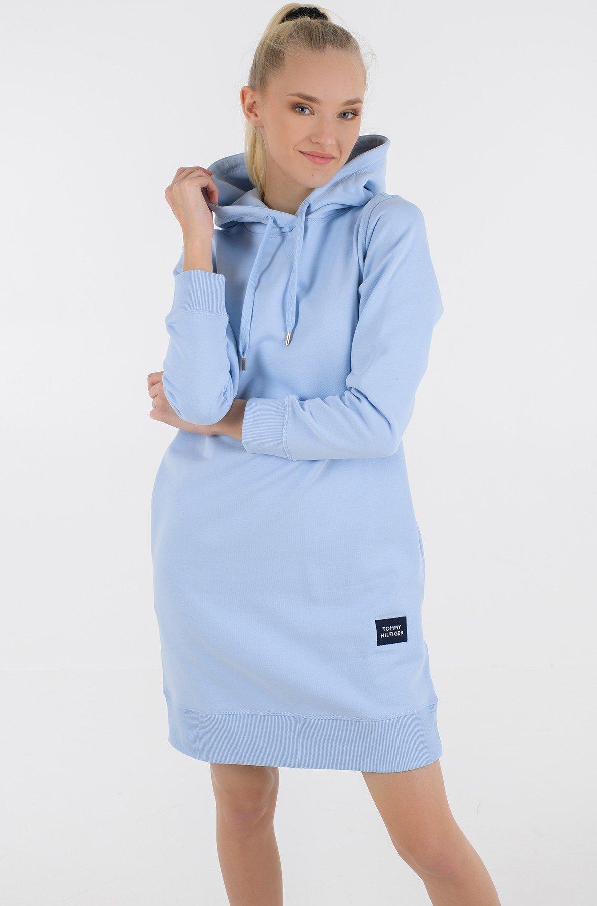 Sweatshirt dress T BOX HOODIE SHORT DRESS -full-1