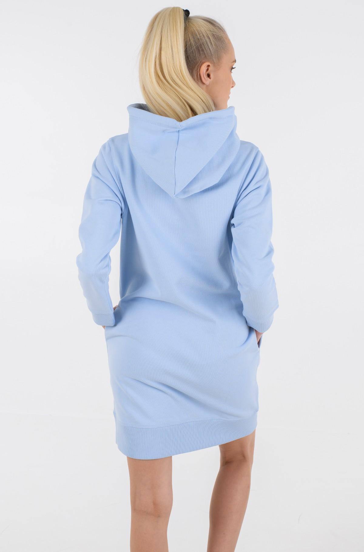 Sweatshirt dress T BOX HOODIE SHORT DRESS -full-2