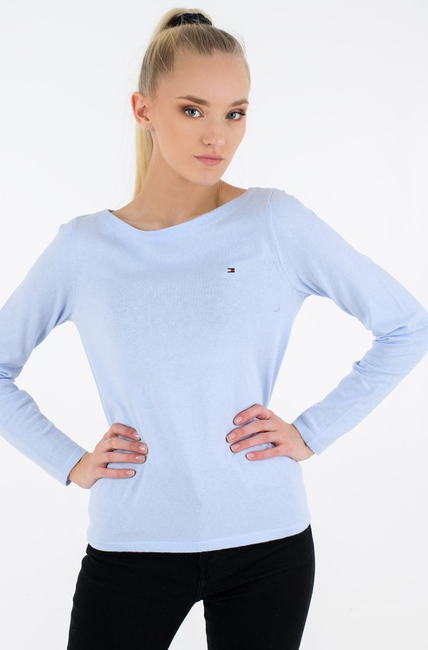 SOFT COTTON BOAT-NK SWT LS