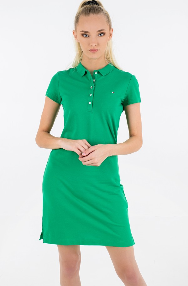 SLIM SHORT POLO DRESS SS