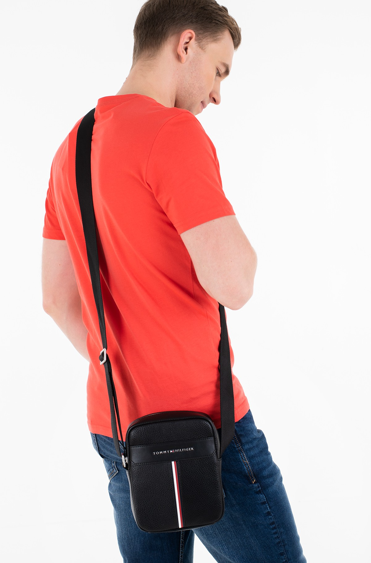 Shoulder bag TH DOWNTOWN MINI REPORTER AM0AM07230-full-1