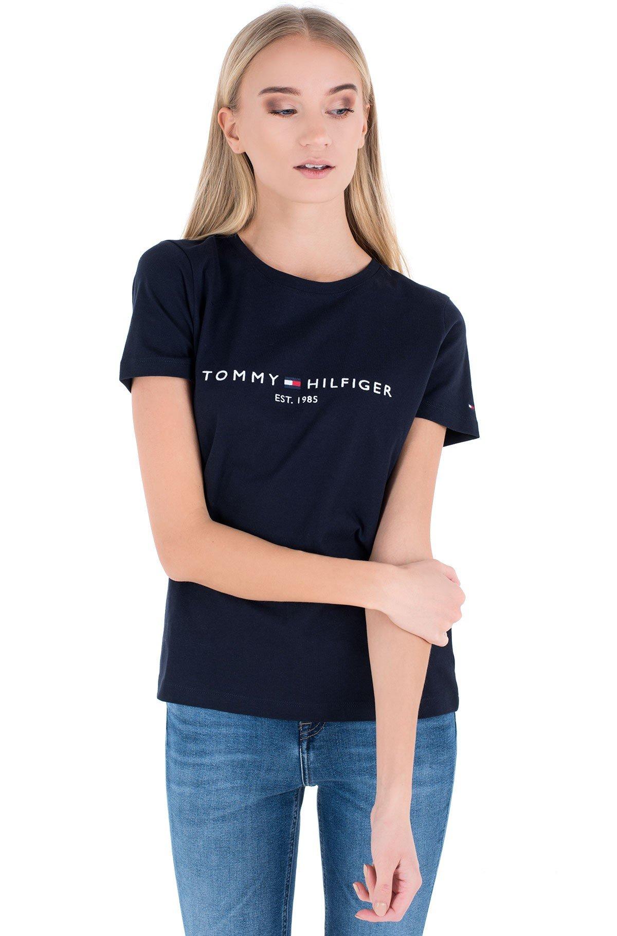 T-shirt TH ESS HILFIGER C-NK REG TEE SS-full-1