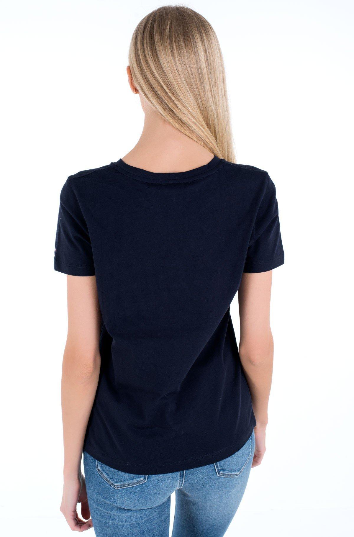 T-shirt TH ESS HILFIGER C-NK REG TEE SS-full-2