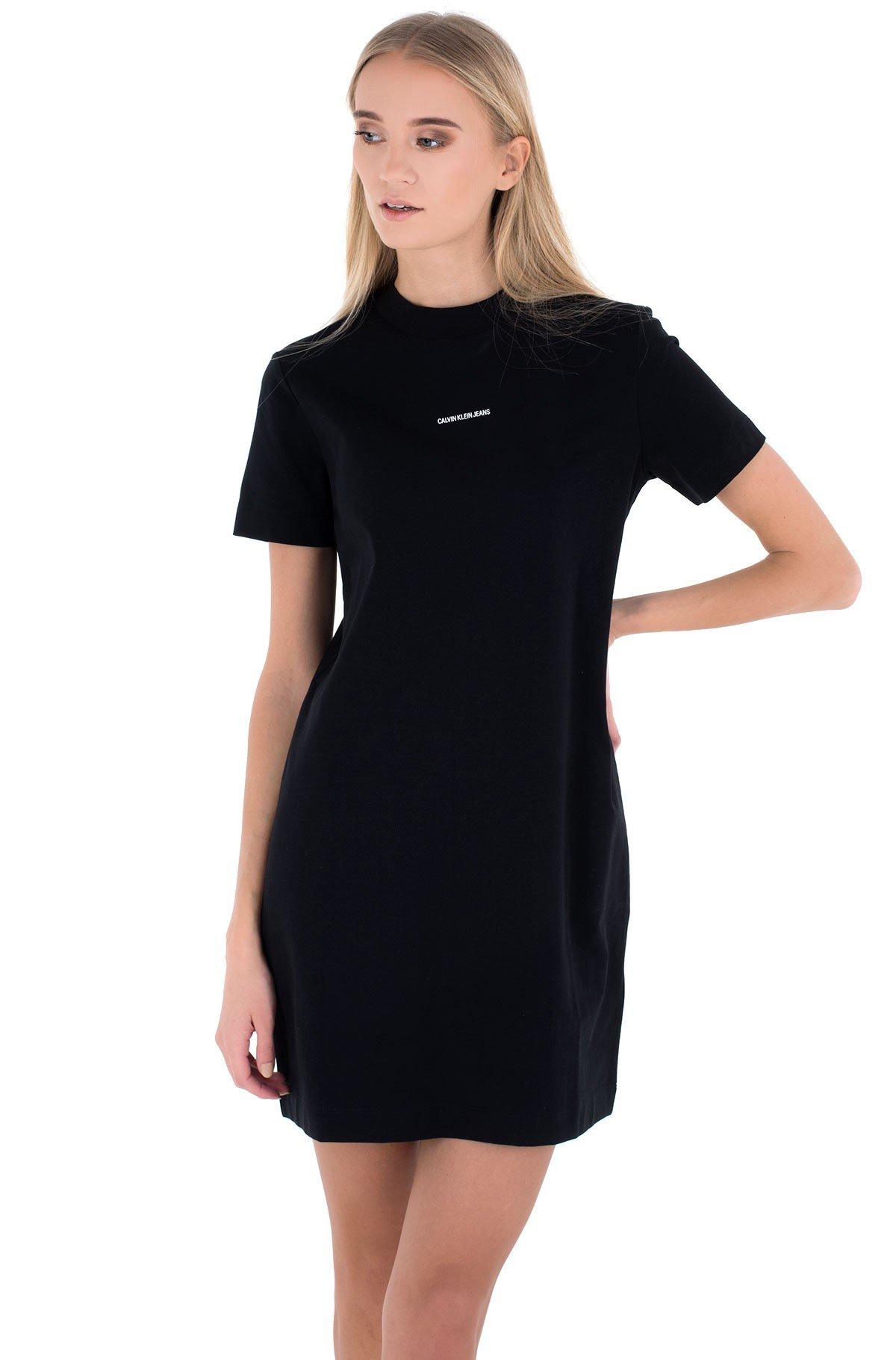 Kleita MICRO BRANDING T-SHIRT DRESS-full-1
