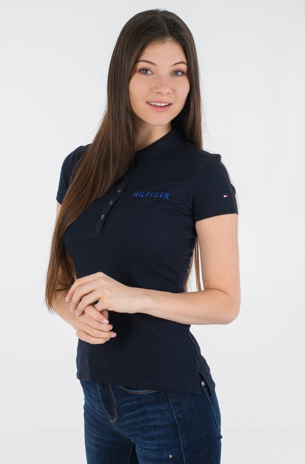 SLIM HILFIGER CRYSTAL POLO SS