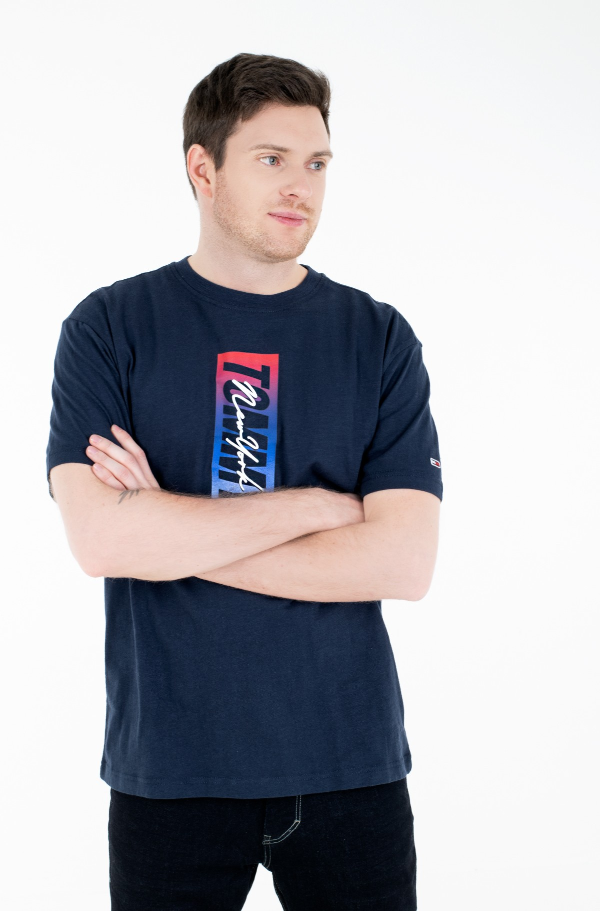 T-shirt TJM VERTICAL FRONT LOGO BOX TEE-full-1