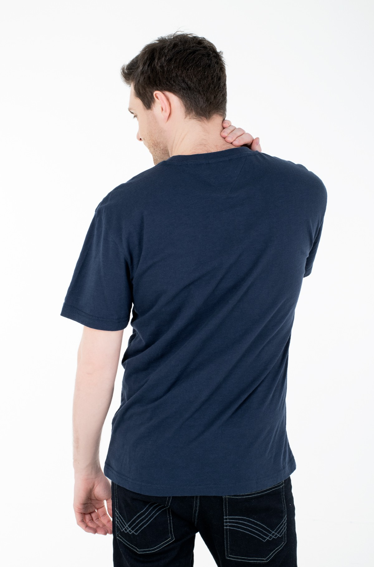 T-shirt TJM VERTICAL FRONT LOGO BOX TEE-full-2