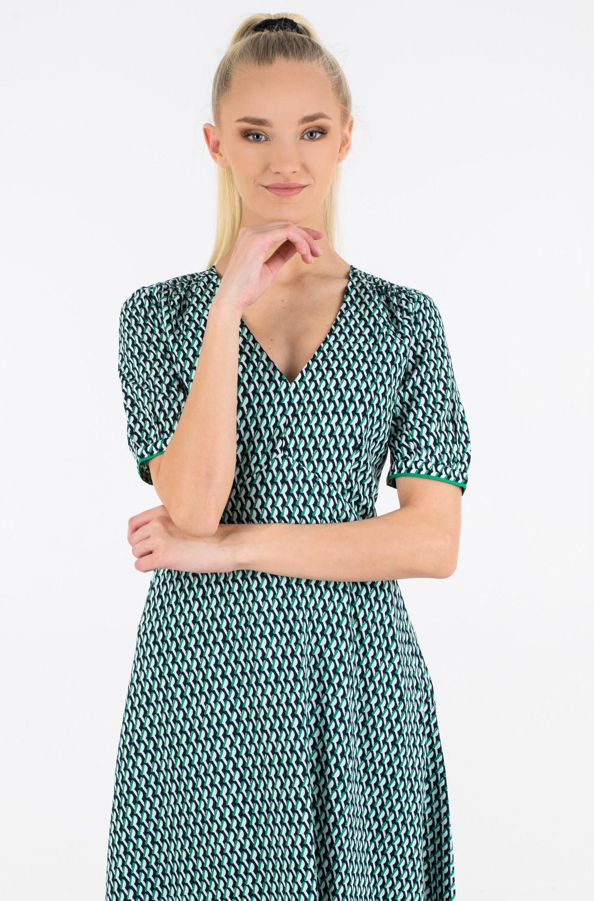 Kleit VIS POPLIN F&F KNEE DRESS SS-full-2