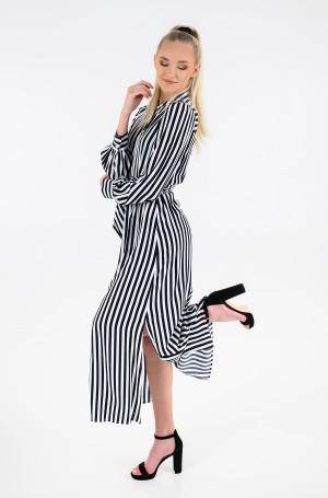 Maxi dress VISCOSE CDC LONG SHIRT DRESS LS-1