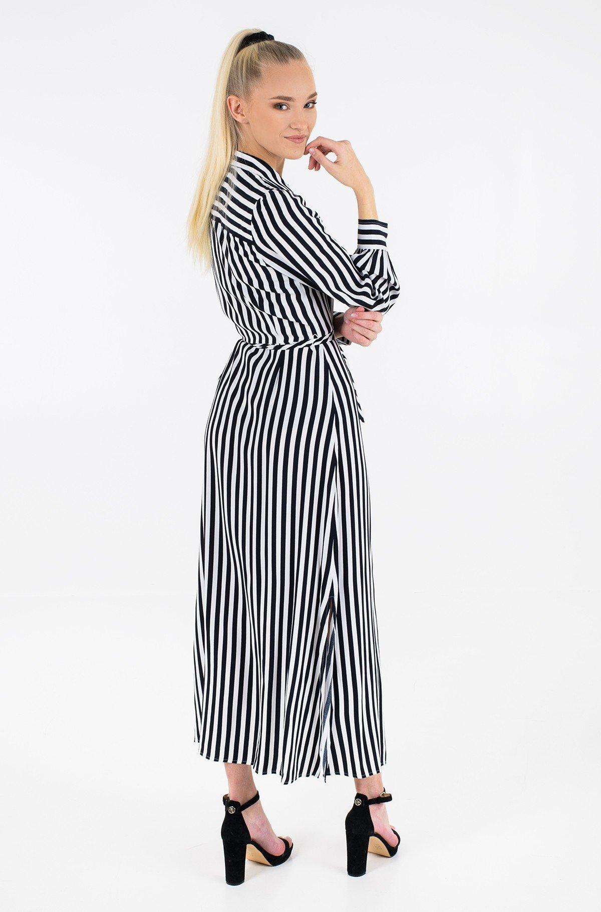 Maxi dress VISCOSE CDC LONG SHIRT DRESS LS-full-2