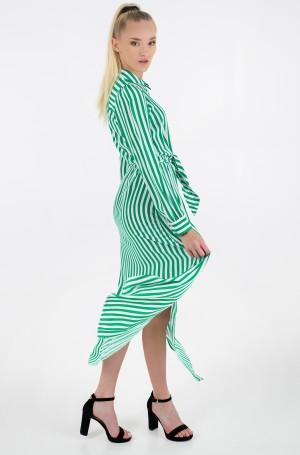 Maxi dress VISCOSE CDC LONG SHIRT DRESS LS-2