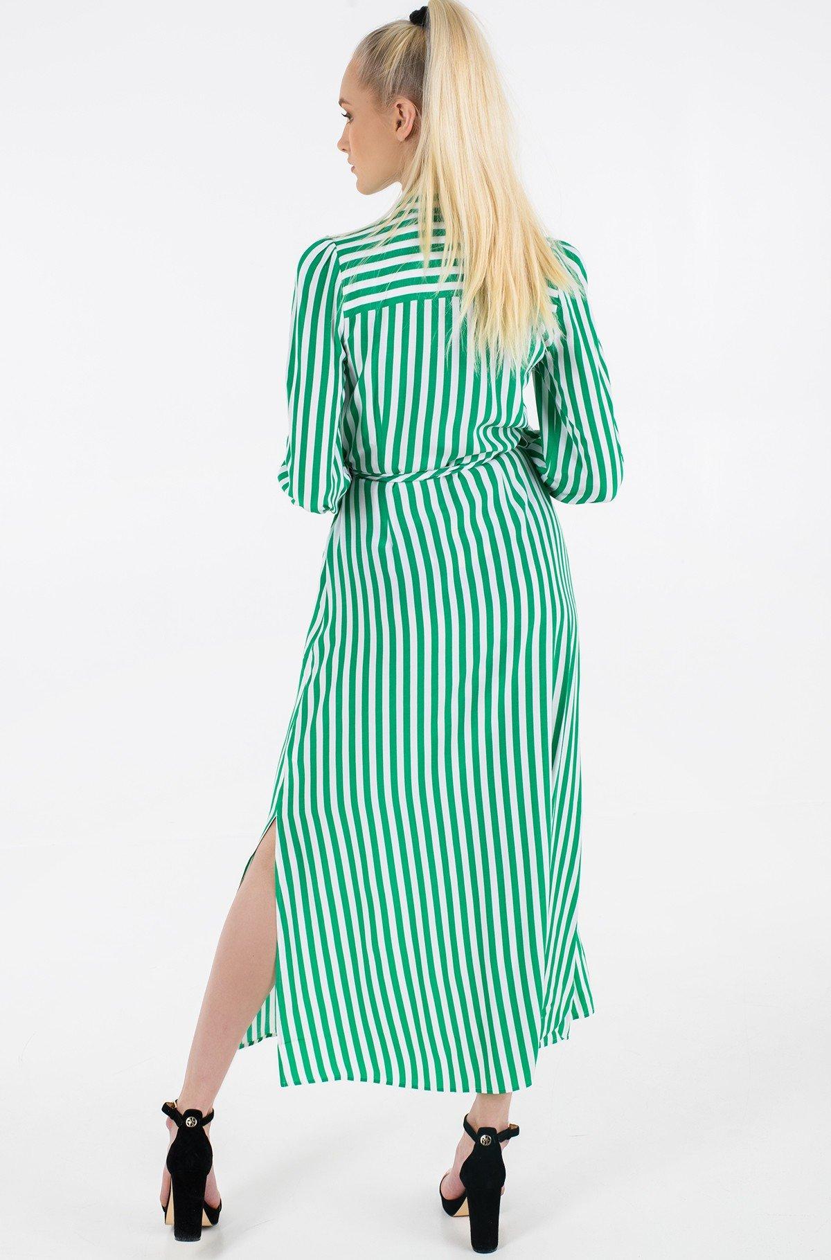 Maxi dress VISCOSE CDC LONG SHIRT DRESS LS-full-3