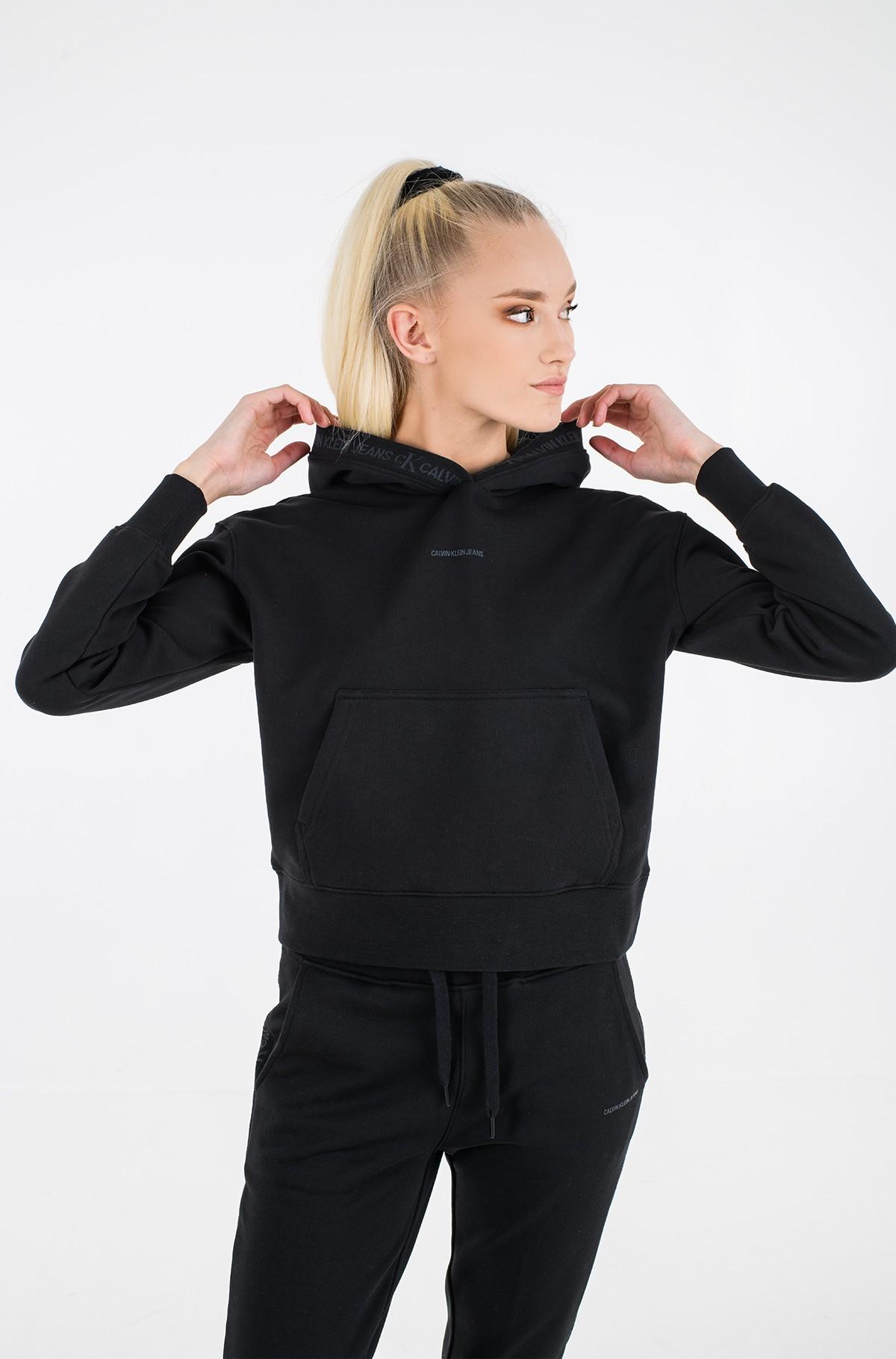 Sporta džemperis LOGO TRIM HOODIE-full-1