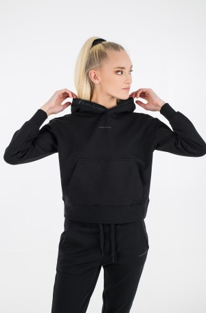 Sporta džemperis LOGO TRIM HOODIE-1