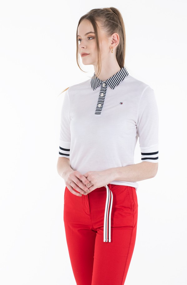 REGULAR LYOCELL POLO 1/2 SLV