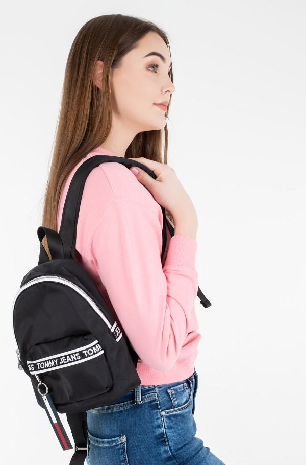 TJW MINI LOGO TAPE BACKPACK NYLN
