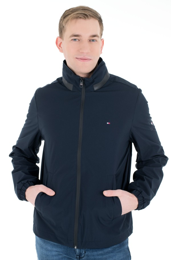 STAND COLLAR JACKET-hover