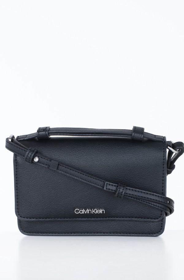 FLAP WALLET MINI BAG W/TOP H-hover