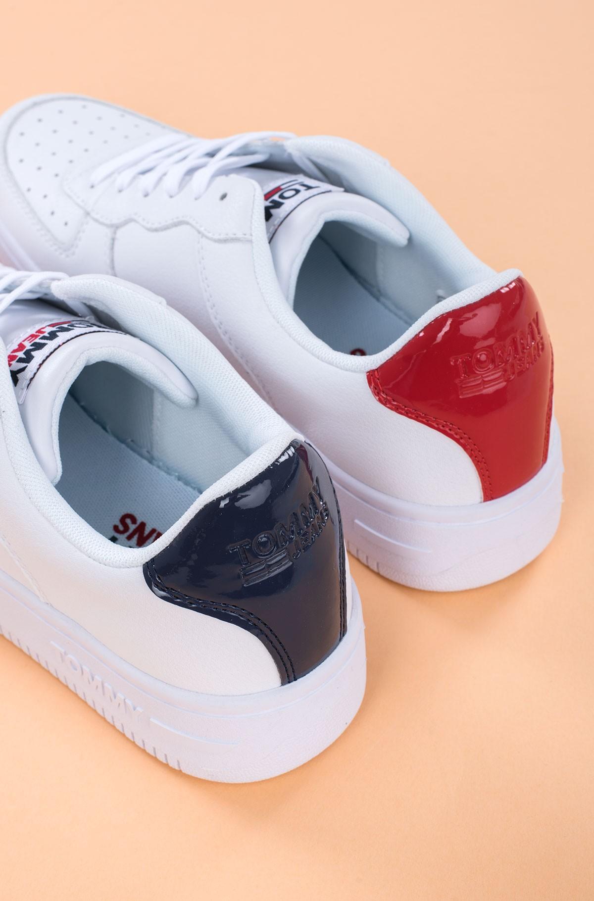 Sneakers WMNS TOMMY JEANS BASKET SNEAKER-full-4