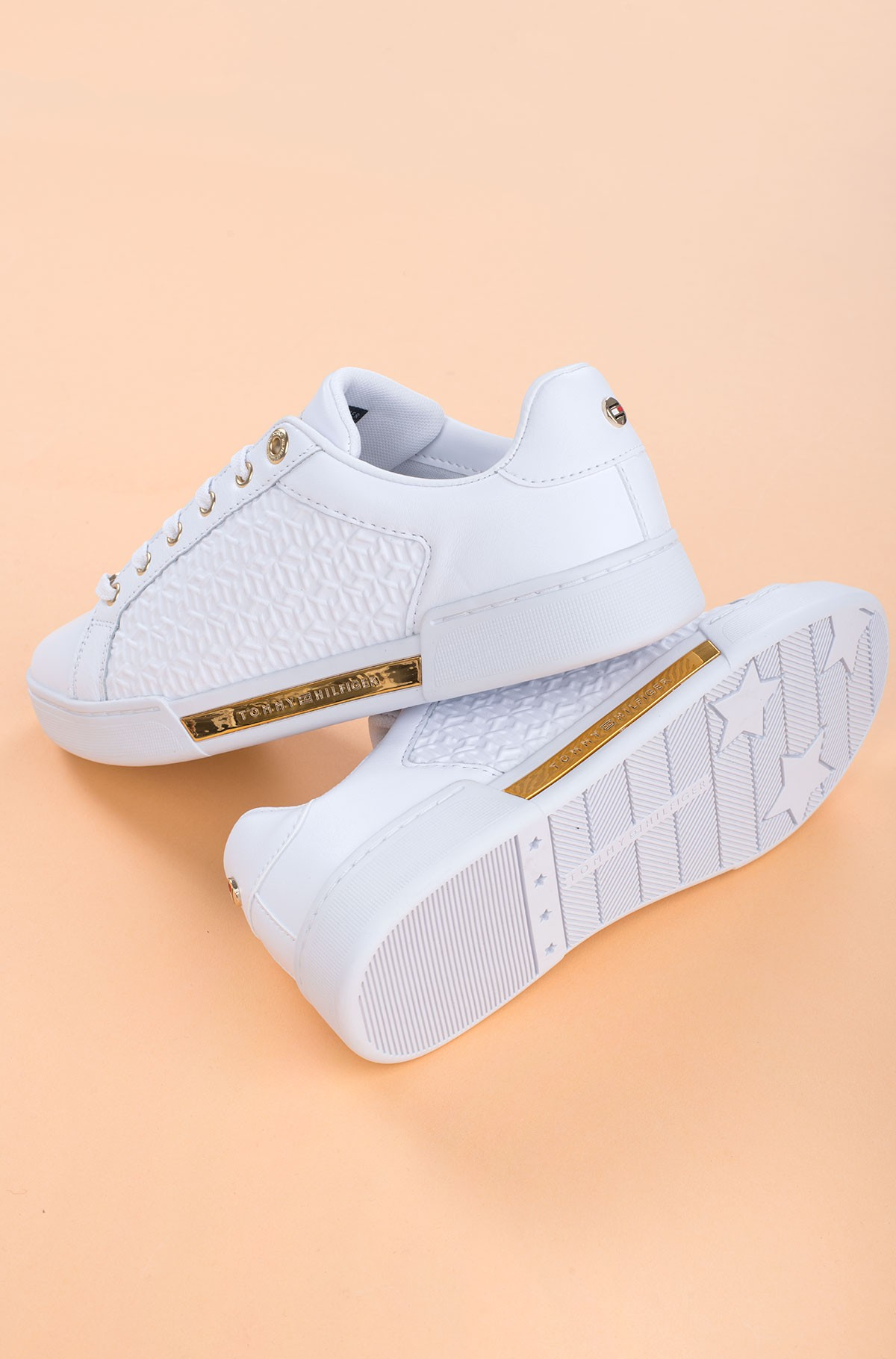 Casual shoes TH MONOGRAM ELEVATED SNEAKER-full-3