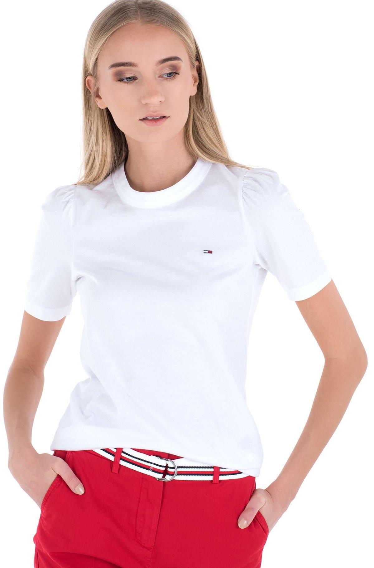 T-krekls TJW SLIM RUFFLED TEE-full-1
