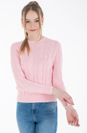 Sweater TJW V-NECK SWEAT DRESS-1