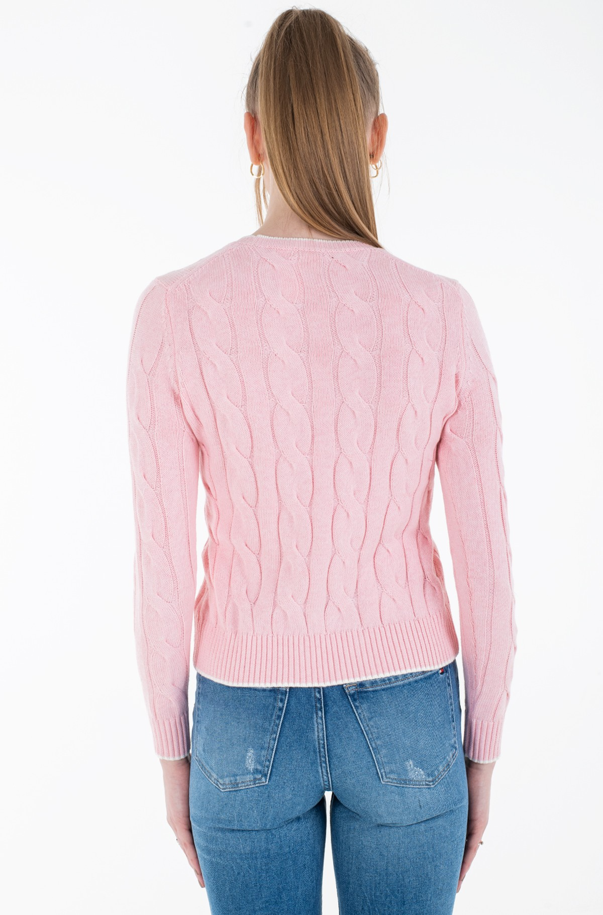Sweater TJW V-NECK SWEAT DRESS-full-2