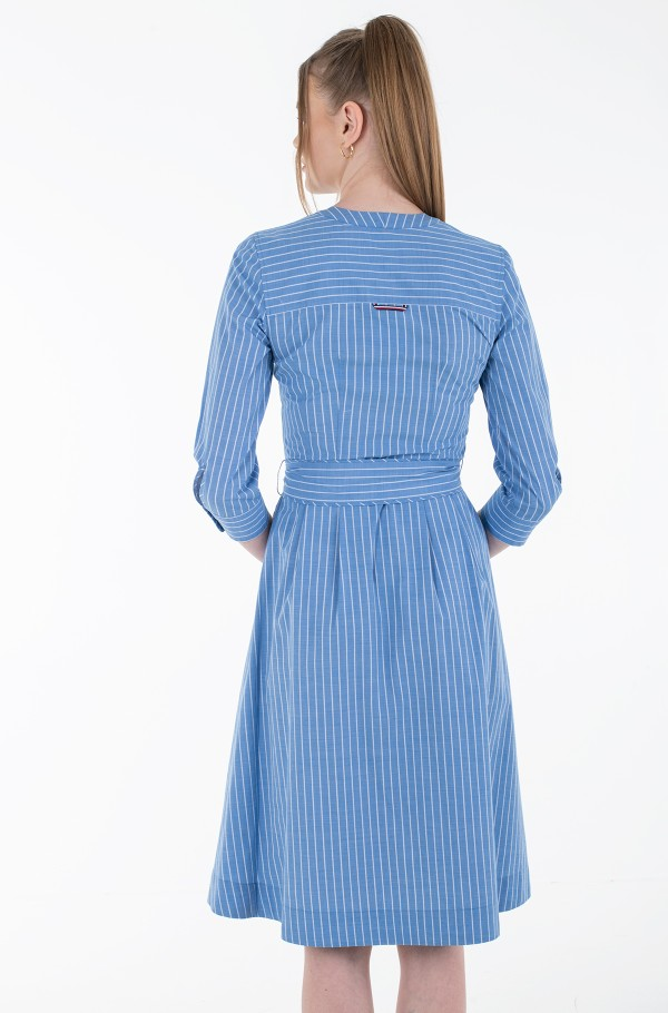 Y/D COT SHIRT MIDI DRESS 7/8 SLV-hover