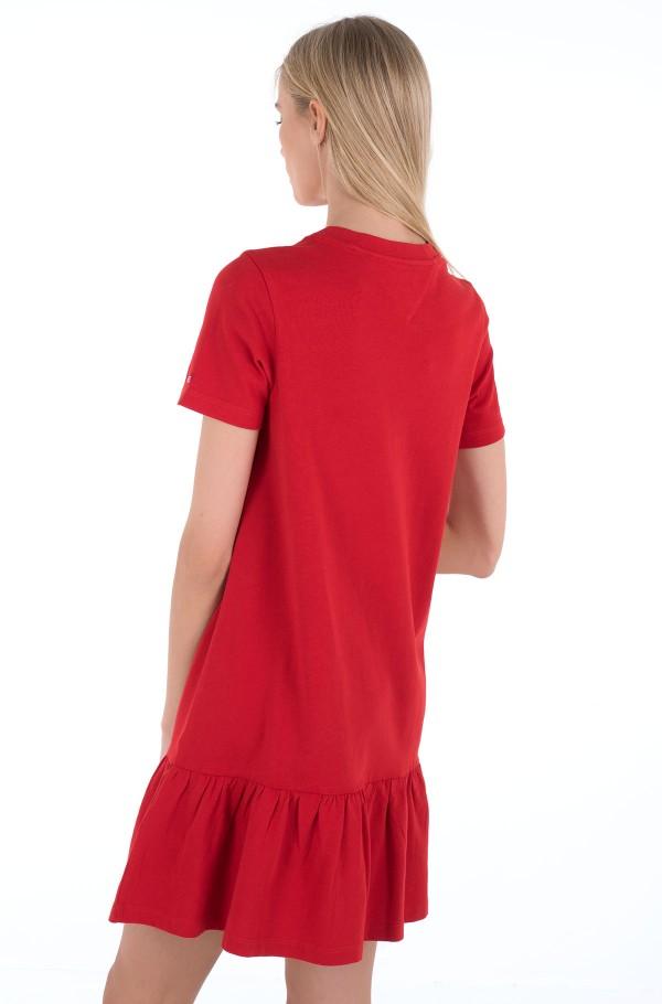 TJW LOGO PEPLUM DRESS-hover
