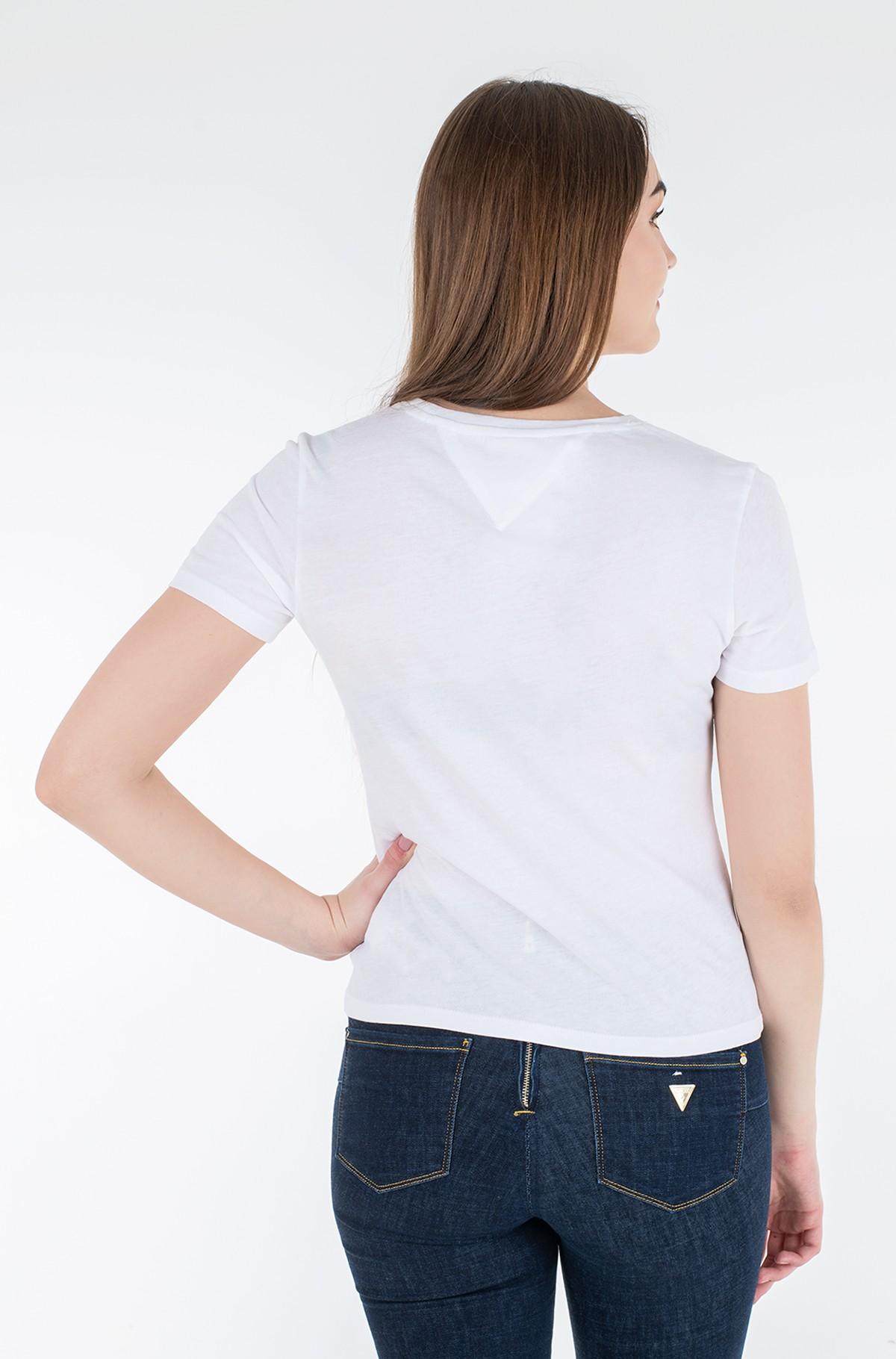 Marškinėliai TJW SLIM METALLIC TOMMY TEE-full-2