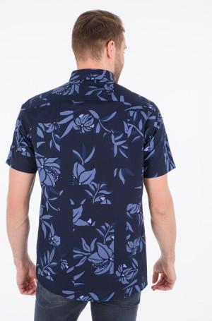 Short sleeve shirt PATCHWORK FLORAL PRINT SHIRT S/S-2